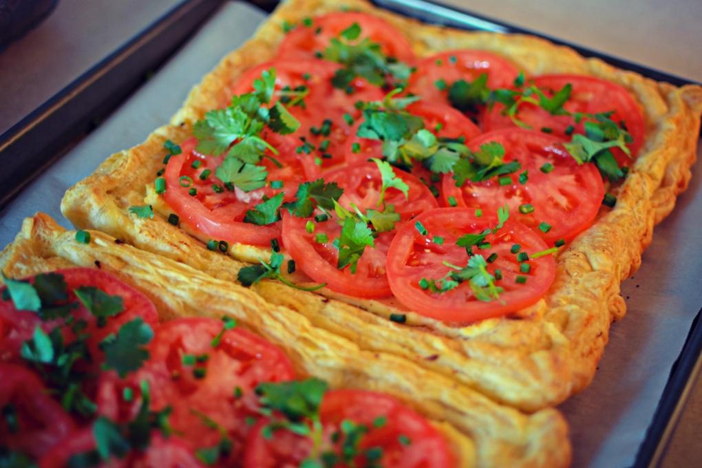 Tomato Tart 2