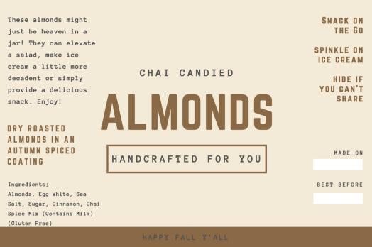 Almond Tag